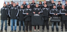 Youth coaches are pleased about new sport bags and jackets
