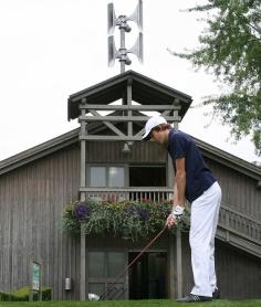 Sistema d'allarme per i campi da golf