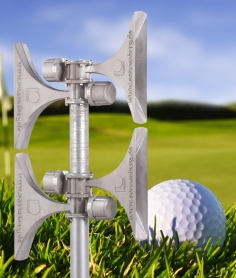 Siren alert systems for golf clubs