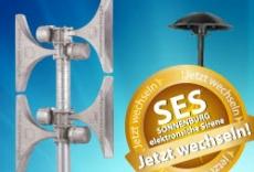Rabatt: Tauschen Sie Ihre alte Motorsirene gegen eine SES - Angebot gültig bis zum 30.09.12!